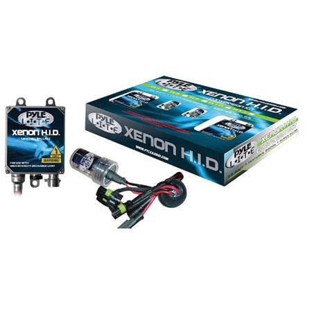 Pyle PHDH10K6K 6000K Single Beam H10 HID Xenon Driving Light System