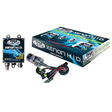 Pyle PHDH3K12K 12000K Single Beam H3 HID Xenon Driving Light System