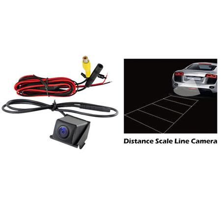 Pyle PLCMBUICK Buick Vehicle Specific Rear View Backup Camera with Distance Scale Line