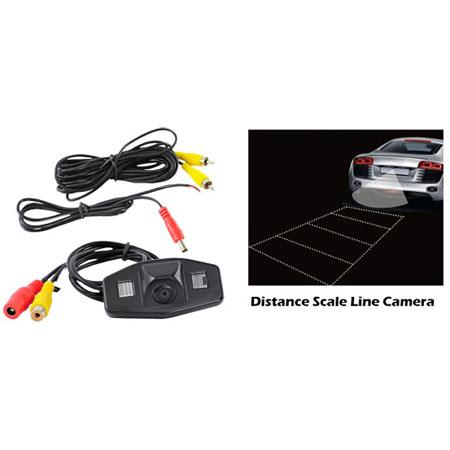 Pyle PLCMHONDA Honda Vehicle Specific Infrared Rear View Backup Camera with Distance Scale Line