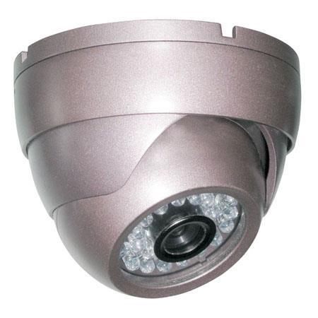 Pyle PHCM36 Indoor Dome Video Surveillance Night Vision Camera, 1/4