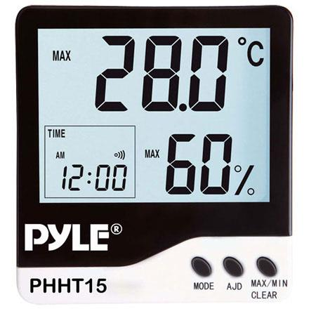 Pyle PHHT15 Indoor Digital Hygro-Thermometer