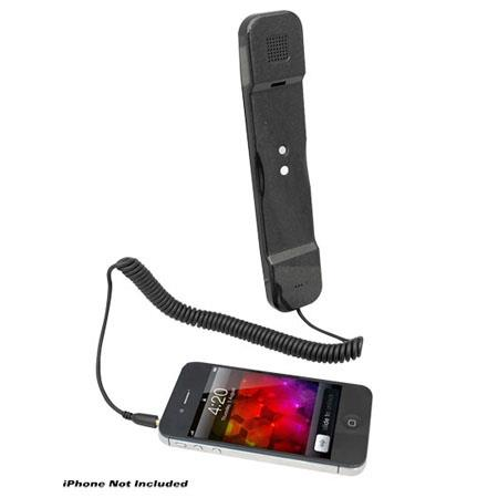 Pyle PITP8 Handset for iPhone, iPad, iPod and Android Phones, Black