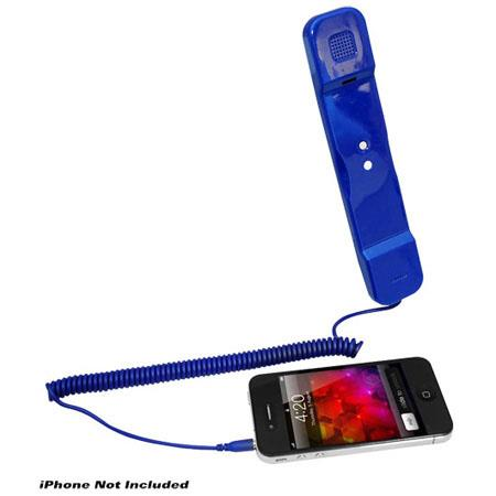 Pyle PITP8 Handset for iPhone, iPad, iPod and Android Phones, Blue