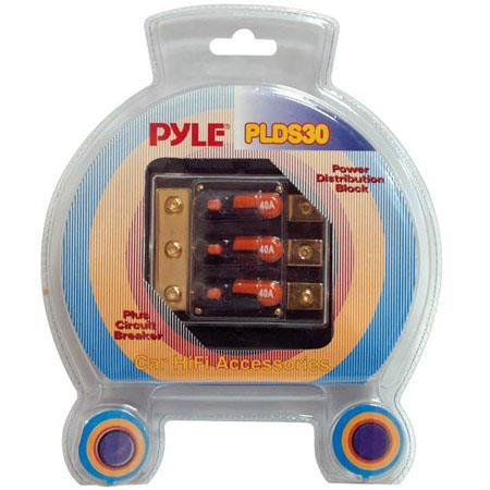 Pyle PLDS30 Triple 40 Amp In-Line Circuit Breaker