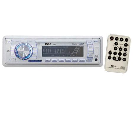 Pyle PLMR18 AM/FM-MPX PLL Tuning Marine Radio with SD/MMC & USB