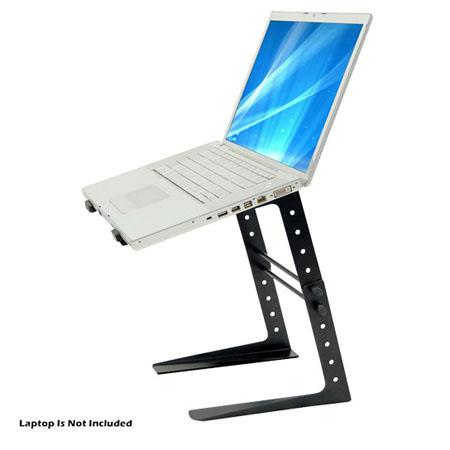 Discount Electronics On Sale Pyle PLPTS25 Laptop Computer Stand For DJ