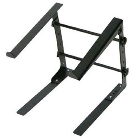 Discount Electronics On Sale Pyle PLPTS30 Laptop Computer Stand for DJ With Flat Bottom Legs