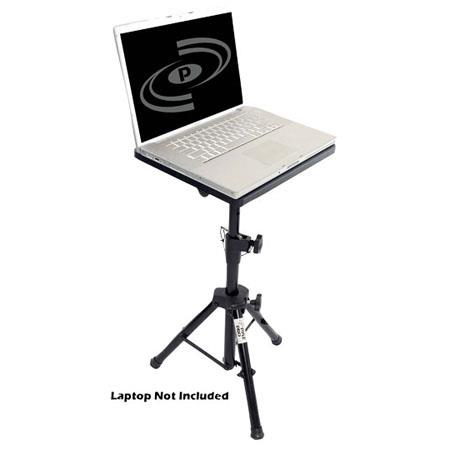 Discount Electronics On Sale Pyle PLPTS4 Pro DJ Laptop Tripod Adjustable Stand for Notebook Computer