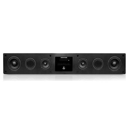 Pyle Smart SoundBar HD Digital Speaker System with Built-in Android Computer & Mic, Includes 3-in-1 Wireless Remote with Keyboard and Air Mouse, HDMI