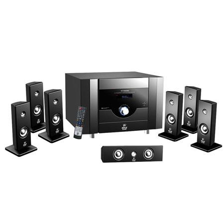 Pyle 7.1 Channel Home Theater System with Satellite Speakers, Center Channel, Subwoofer, Bluetooth