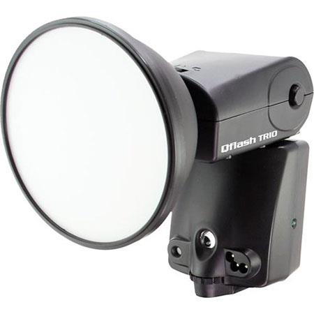 Quantum QF8N Qflash TRIO Shoe Mounted Flash with Built-in FreeXwire TTL Radio for Nikon & Fujifilm Digital SLRs, Guide # 160 (ISO 200) .