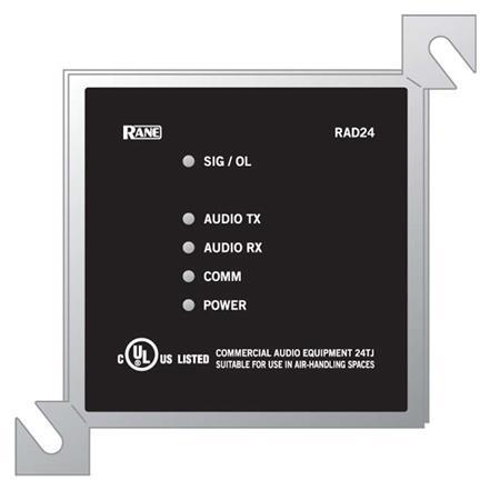 Rane RAD24 1W Class-D Amplifier for Wall Mount HAL Speakers