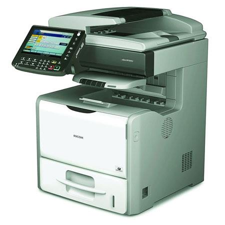 Ricoh Aficio SP 5210SR Laser Multifunction Printer, 1200x600dpi Print Resolution, 52 ppm Print Speed, 1GB Standard Memory