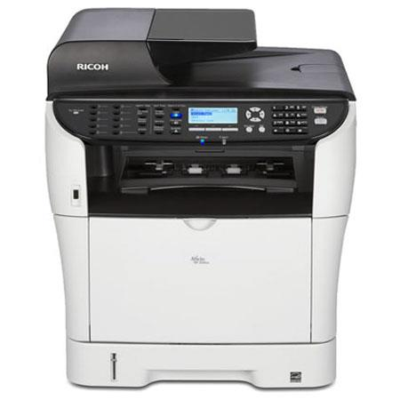 Ricoh Aficio SP 3510SF Black and White Multifunction Printer, Up to 30 ppm Printing Speed, Up to 1200x1200dpi Printing Resolution