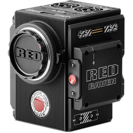RED Digital Cinema RED DIGITAL CINEMA RAVEN Camera Package with 4.5K DRAGON Sensor and EF Mount (455.6 Hours)