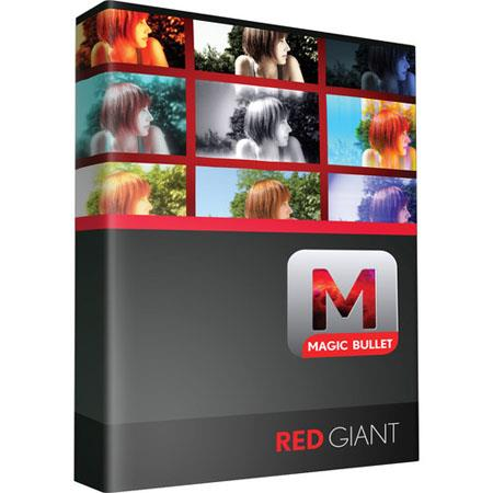 Red Giant Magic Bullet Quick Looks V1.3, Plug in Video Editing Software for Mac & Windows.