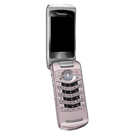 RIM BlackBerry 8220 Pearl Flip Unlocked Smartphone with 2.0 Megapixel Camera, GSM Technology, Pink QWERTY KEYBOARD image