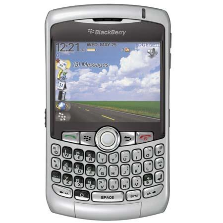 RIM BlackBerry Curve 8310 Locked Smartphone with QWERTY Keyboard for AT&T, GSM Technology, Titanium image