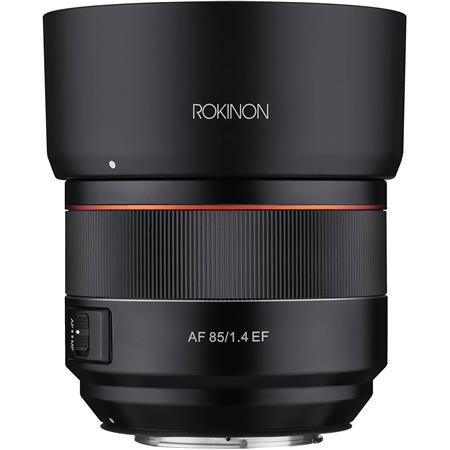 Rokinon 85mm f/1.4 Auto Focus Lens for Canon DSLR Cameras