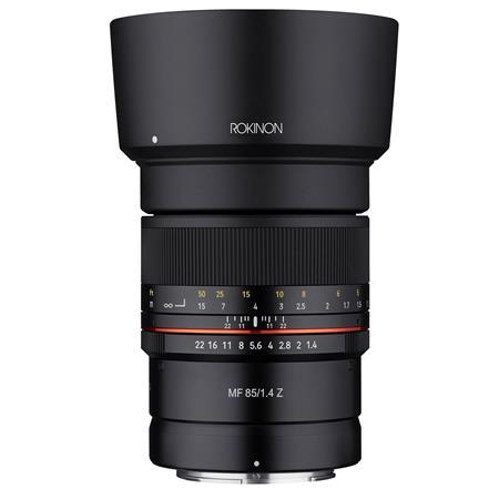 Rokinon 85mm F1.4 UMC, Manual Focus Lens for Nikon Z