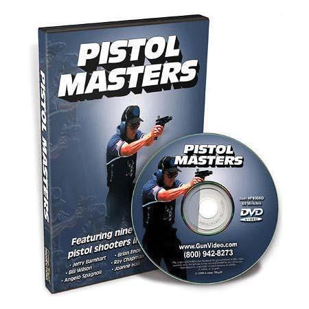 "Gun Video Catalog ""Pistol Masters - Learn from The Best"", DVD Features Nine of the Best Pistol Shooters in the World."