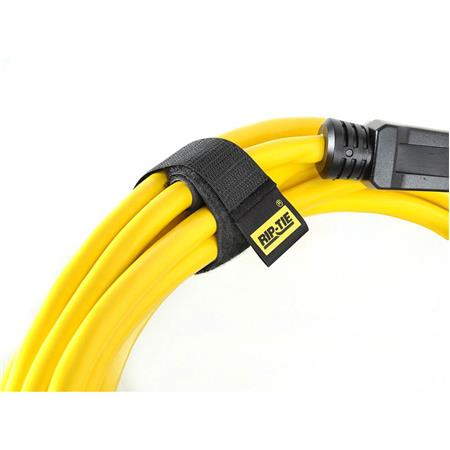 rip tie 1 quot x 14 quot heavy duty cablewrap 10 pack black h 14
