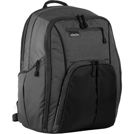 "Skooba Techlife Digital Daypack 2G Large for 17"" Laptops, Abyss Black"