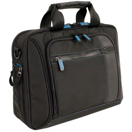 "Skooba Satchel V.3 Mini Bag, Holds a 13"" Notebook, Black"