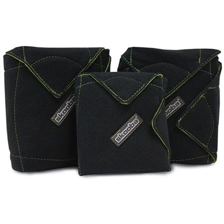 Skooba Small/Medium and Large Wraps, 3 Pack