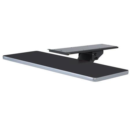 "Raxxess 24"" Keyboard Shelf for CRND Workstation, Ebony Fleck"