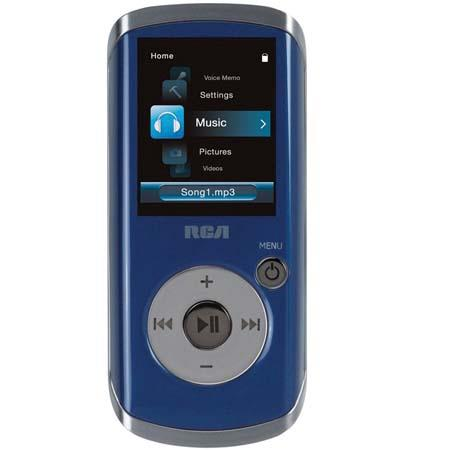 RCA M4204 Opal 4 GB Portable Audio/Video/MP3/MP4 Player with 1200 Songs Storage Capacity image