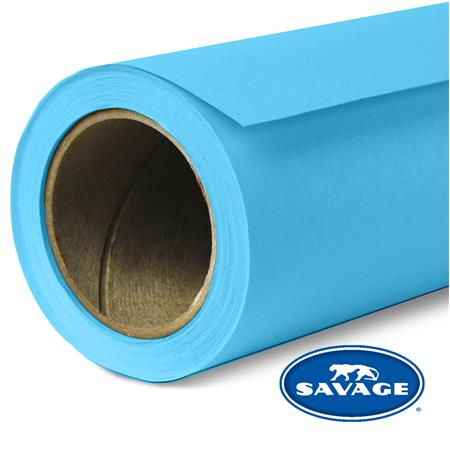 "Savage Seamless Background Paper, 26"" wide x 12 yards, Ocean Blue, #36 image"