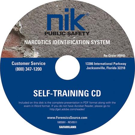 Safariland NIK Self-Training CD