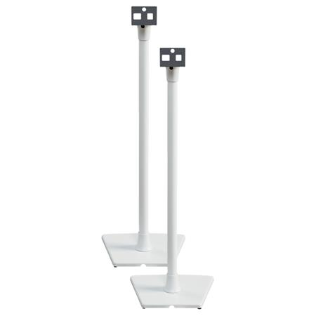 Sanus Systems WSS2 Speaker Stand for SONOS PLAY 1 and PLAY 3 Speakers, Pair, White