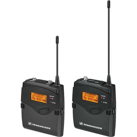 Sennheiser Single Channel ENG System, Includes SK 2000XP Bodypack Transmitter, EK 2000 Portable Receiver, BW:626-698MHz...
