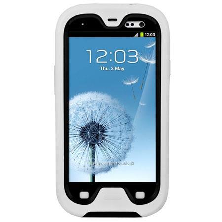Seidio Obex Combo Waterproof Case for Samsung Galaxy S III, White