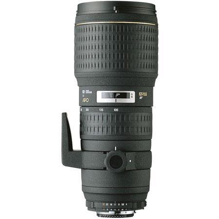 Sigma 100-300mm f/4 EX DG IF HSM AutoFocus Telephoto Zoom Lens for Nikon AF-D Cameras image