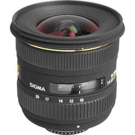 Sigma 10mm - 20mm f/4-5.6 EX DC HSM Autofocus Zoom Lens for Nikon Digital SLR Cameras. image