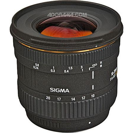 Sigma 10mm - 20mm f/4-5.6 EX DC Autofocus Zoom Lens for Pentax Digital SLR Cameras. image