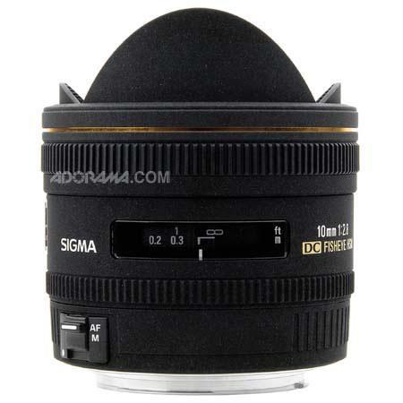 Sigma 10mm f/2.8 EX DC HSM Fisheye Auto Focus Lens for Pentax Digital Cameras - USA Warranty