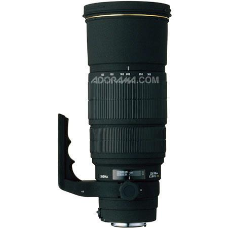 Sigma 120-300mm f/2.8 EX DG APO IF HSM AutoFocus Telephoto Zoom Lens for Nikon AF-D Cameras image