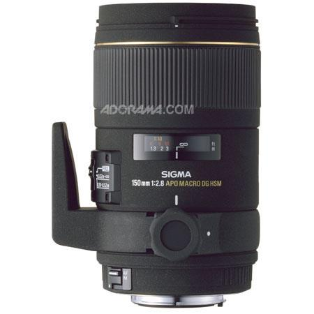 Sigma 150mm f/2.8 EX DG APO AF Telephoto Macro Lens for Nikon AF-D Cameras image