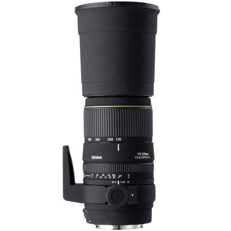 Sigma 170-500mm f/5-6.3 DG APO Aspherical AutoFocus Telephoto Zoom Lens for Pentax AF Cameras image