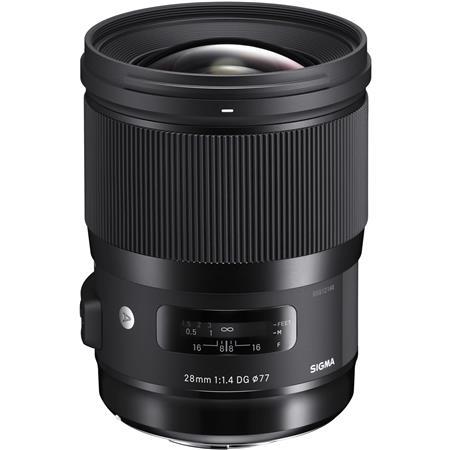 Sigma 28mm f/1.4 DG HSM ART Lens for Canon EOS DSLR Cameras