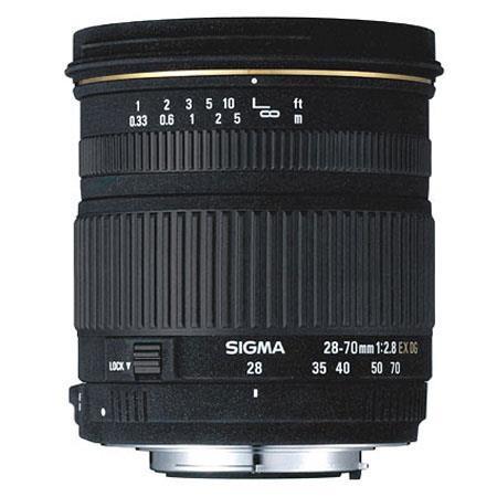 Sigma 28-70mm f/2.8 EX DG AutoFocus Wide Angle Zoom Lens for Sigma Cameras image