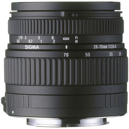 Sigma 28-70mm f/2.8-4 DG Aspherical High Speed AutoFocus Wide Angle Zoom Lens for Sigma Cameras image