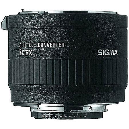 Sigma 2x EX DG APO Tele-Converter AF for the Maxxum & Sony Alpha Mount. image