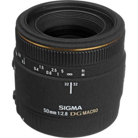 Sigma 50mm f/2.8 EX DG Auto Focus Macro Lens for the Maxxum & Sony Alpha Mount. image