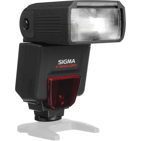 Sigma EF-610 DG Super Shoe Mount Flash for Nikon iTTL Digital SLR's, Guide Number 200' at 105mm Setting.